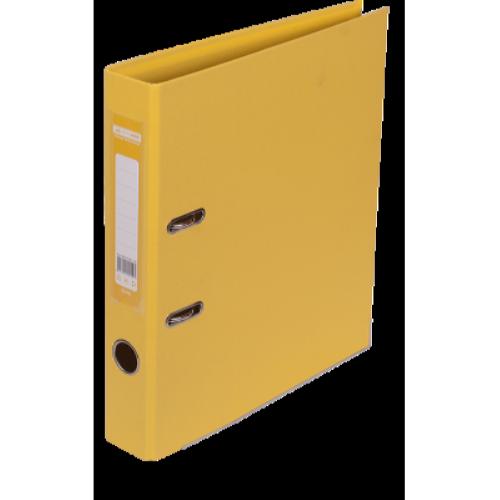 Регистратор двухсторонний Buromax А4/50мм желтый