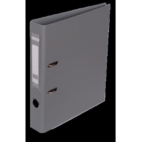 Регистратор двухсторонний Buromax А4/50мм серый