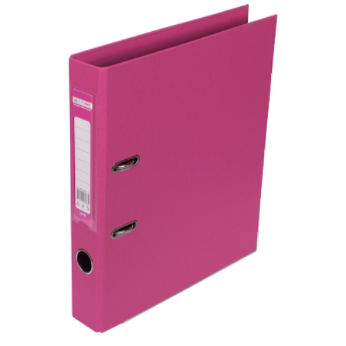 Регистратор двухсторонний Buromax А4/50мм розовый