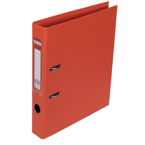 Регистратор двухсторонний Buromax А4/50мм оранжевый