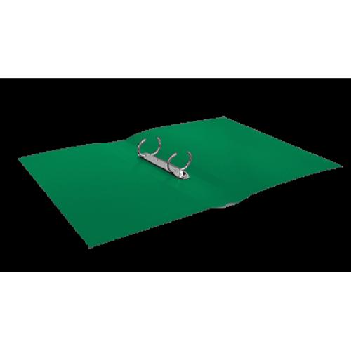 Папка пластиковая А4 на 2 кольца BM.3161-04, зеленая