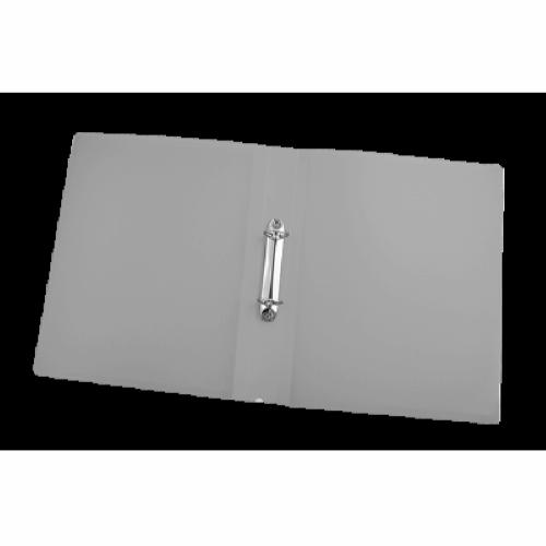 Папка пластиковая А4 на 2 кольца BM.3161-09, серая
