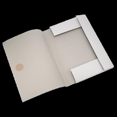 Папка картонна на зав'язках А4, клеєний клапан BM.3359
