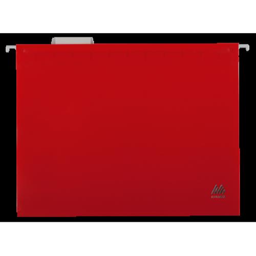 Файл подвесной пластиковый А4 BM.3360-05, красный