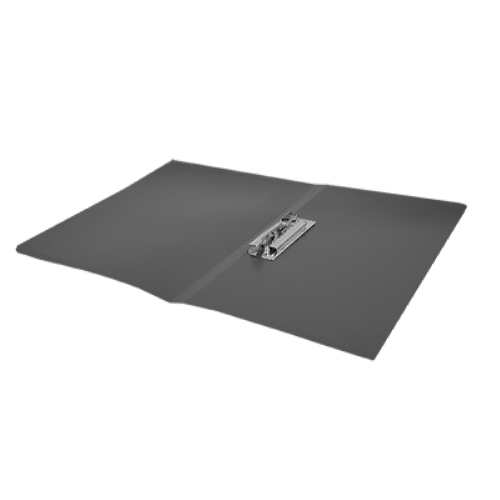 Папка з притиском А4 Buromax, чорна
