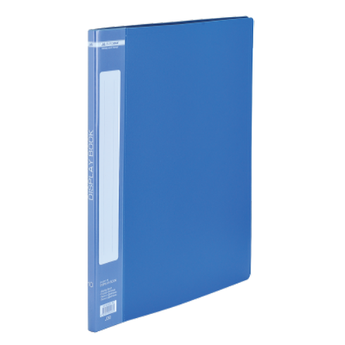 Папка пластикова А4 10 файлів Buromax, синя (BM.3601-02)