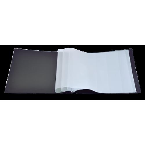 Папка пластиковая  А4 10 файлов Buromax, черная (BM.3601-01)