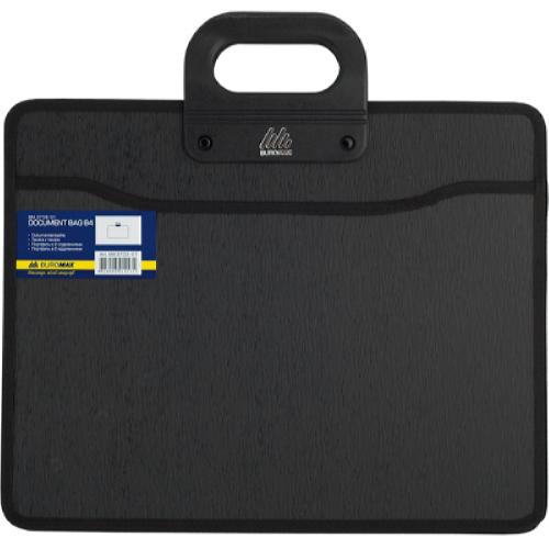 Портфель пластиковый В4 2 отделения BM.3733-01