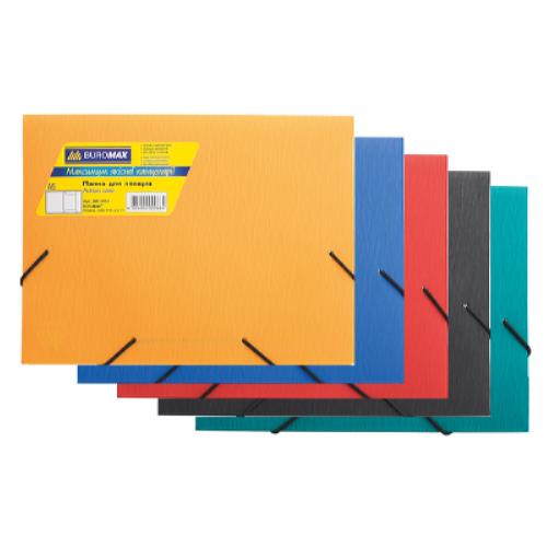 Папка на гумках А5 пластикова BM.3901-99, асорті