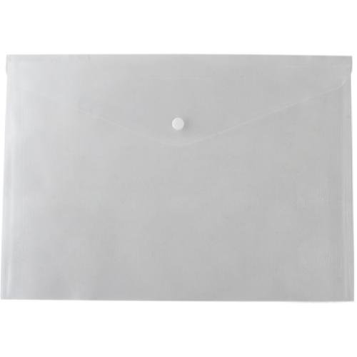 Папка-конверт на кнопці А4 BM.3926-00, прозора