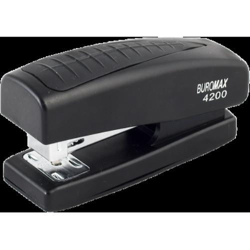 Степлер Buromax BM.4200, чорний