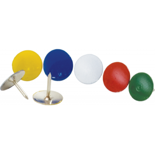 Кнопки кольорові Buromax 100 шт. (BM.5104)