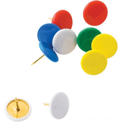 Кнопки цветные Buromax 100 шт. (BM.5176)