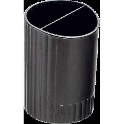 Стакан для ручек пластмассовый черный (BM.6350-01)
