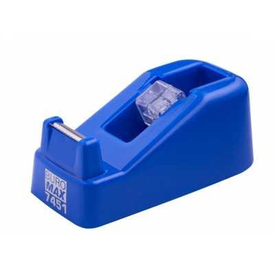 Диспенсер для канцелярского скотча, синий