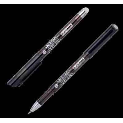 "Ручка гелевая Buromax ""Пиши-Стирай"" ERASE SLIM, черная (BM.8300-02)"