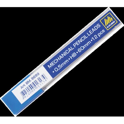 Грифели BuroMax 0,5 мм HB