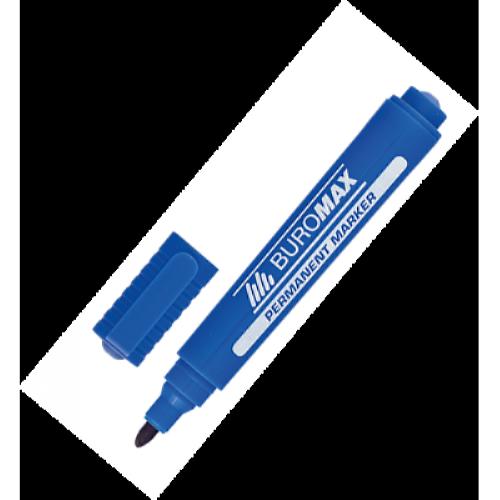 Маркер перманентний Buromax синій