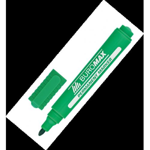 Маркер перманентний Buromax зелений