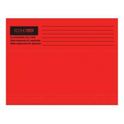 Файл подвесной картонный А4 E30202-03, красный