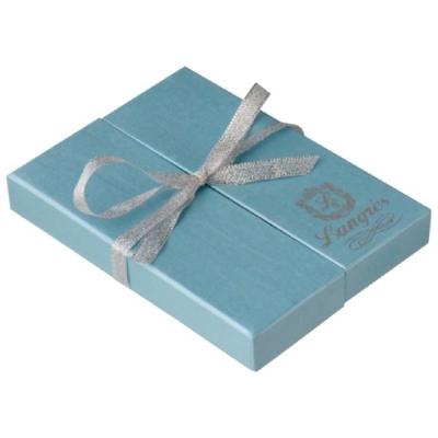 Набор Langres Star: ручка + брелок, синий