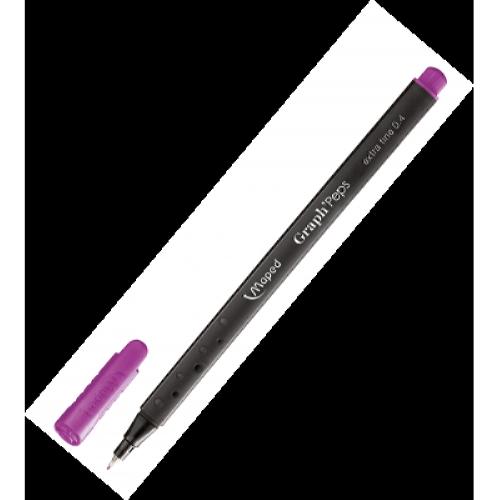 Лайнер GRAPH PEPS 0,4мм фіолетовий