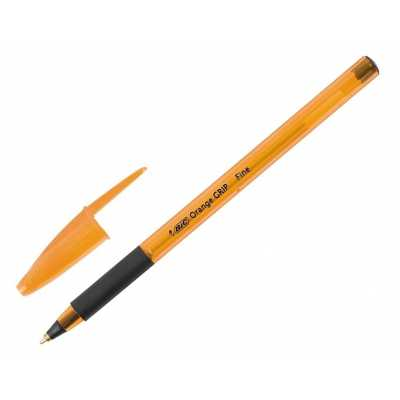 Ручка кулькова Bic Orange Grip чорна