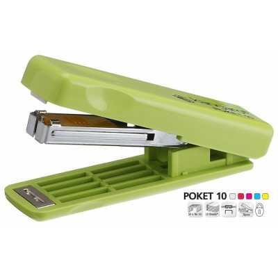 Степлер Kangaro Poket-10, ассорти