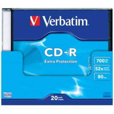 Диск Verbatim CD-R 700MB 52х 80min