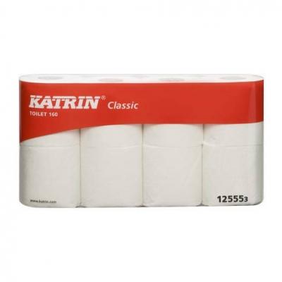 Папір туалетний KATRIN Classic, 3 шари, 16рул. білий