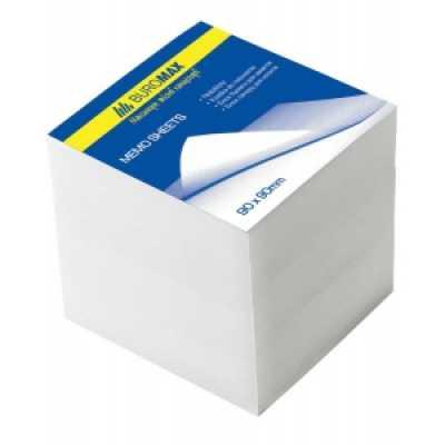 Блок бумаги для записей 90х90х90мм