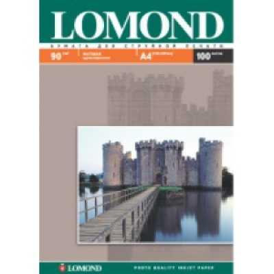 Фотобумага Lomond А4 90 г/м2 матовая 100л.