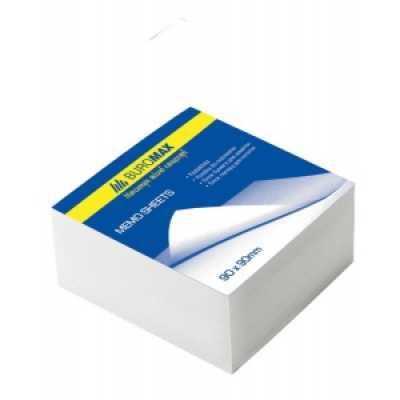 Блок паперу для нотаток 80х80x30мм склеєний