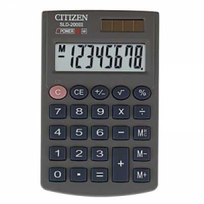 Калькулятор Citizen SLD-200