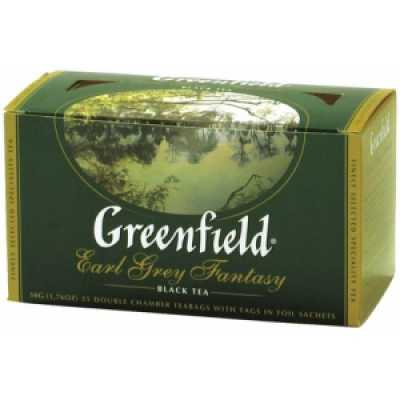 Чай Greenfield Earl Grey Fantasy черный 100п*2г