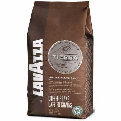 Кава Lavazza Tierra в зернах 1000 г