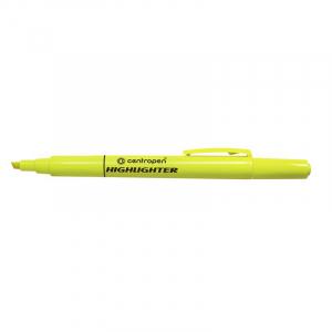 Маркер текстовий Centropen Fax 8722 1-4 мм  жовтий