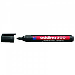 Маркер Edding Permanent e-300 1,5-3 мм круглий чорний