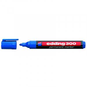 Маркер Edding Permanent e-300 1,5-3 мм круглий синій