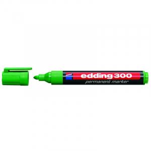 Маркер Edding Permanent e-300 1,5-3 мм круглий зелений