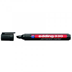Маркер Edding Permanent e-330 1-5 мм клиноподібний чорний