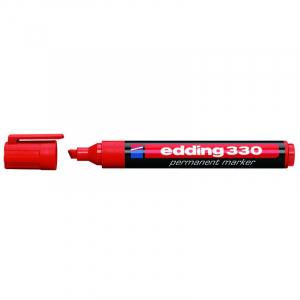Маркер Edding Permanent e-330 1-5 мм клиноподібний червоний