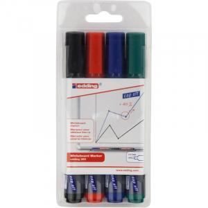 Набор: 4 маркера для досок Edding Board e-360