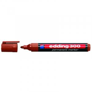 Маркер Edding Permanent e-300 1,5-3 мм круглий коричневий