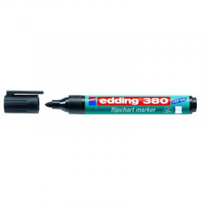 Маркер для фліпчарту Edding Flipchart e-380 1,5-3 мм круглий чорний