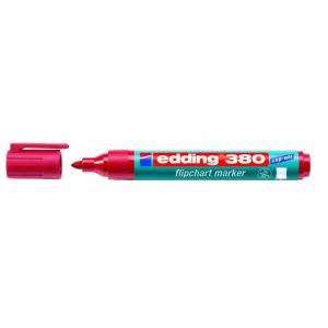Маркер для фліпчарту Edding Flipchart e-380 1,5-3 мм круглий червоний