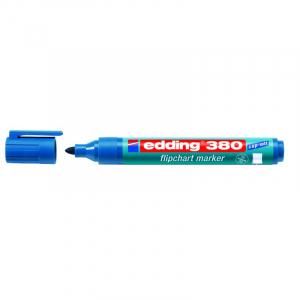 Маркер для фліпчарту Edding Flipchart e-380 1,5-3 мм круглий синій