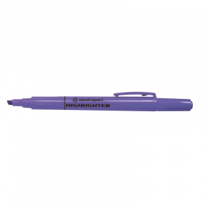 Маркер текстовий Centropen Fax 8722 1-4 мм  фіолетовий