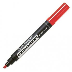 Маркер Centropen Permanent 8576 1-4,6 мм клиноподібний червоний