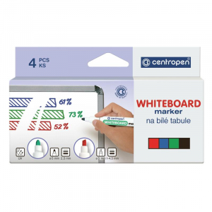 Набор: 4 Маркера для досок Centropen Board 8559